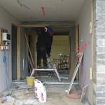 Neuadd yr Hafod Under Construction